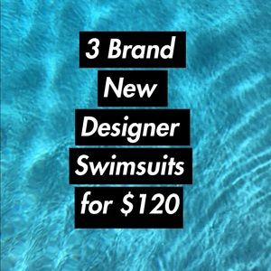 3 for $120 Swimsuits